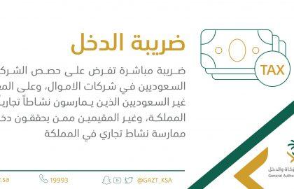 ما هي ضريبة الدخل | ضريبه مباشره علي الغير السعوديين في شركات الاموال